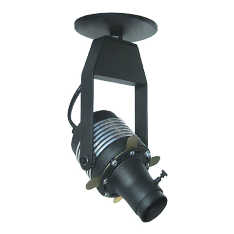 small exposed canopy mount framing projector art light surface mount ceiling mount