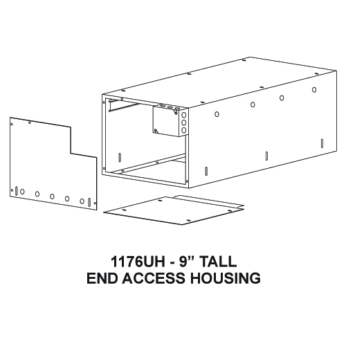 "1176UH - 9"" Tall End Access Housing"